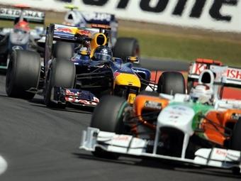 Команды Red Bull и Force India обменяются двигателями