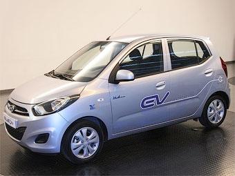 Прототип электрокара Hyundai раскрыл внешность обновленного хэтчбека i10