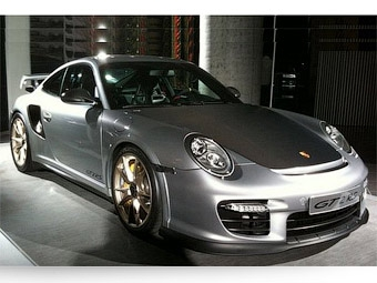 Появились новые фотографии самого быстрого Porsche 911