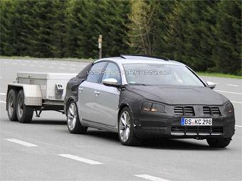 В Германии сфотографировали новый VW Passat