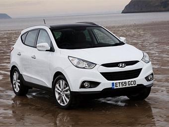 Компания Hyundai объявила российские цены на кроссовер ix35