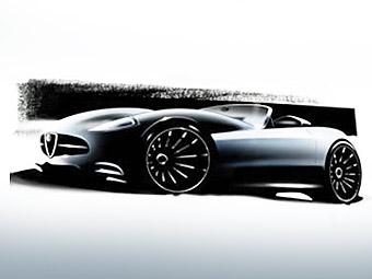 Alfa Romeo покажет прототип нового родстера в Калифорнии