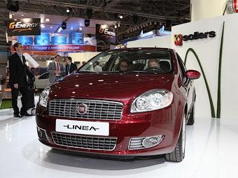 В Набережных Челнах началось производство седана Fiat Linea