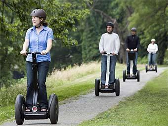 В Великобритании впервые оштрафовали водителя скутера Segway