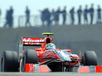 Virgin Racing привезет в Испанию только один новый болид