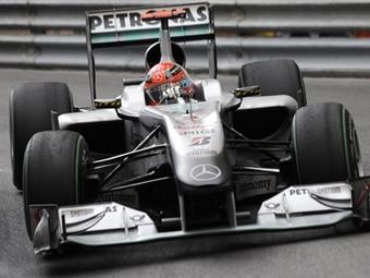 Команда Mercedes отказалась от апелляции на штраф Шумахера