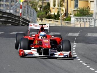 Алонсо выиграл вторую сессию на Гран-при Монако