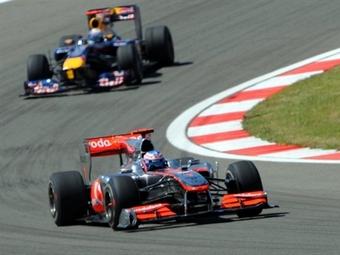 Лучшее время дня на Гран-при Турции показал Дженсон Баттон