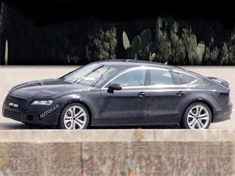 Audi готовит 580-сильную версию четырехдверного купе A7