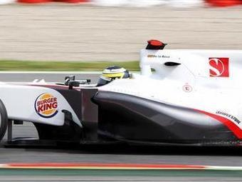 Сеть фастфудов стала спонсором команды Формулы-1