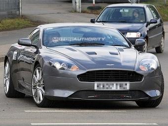 Aston Martin готовит обновленный суперкар DB9