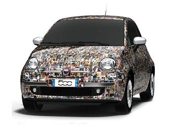 """Владельцы Fiat 500 украсят спецверсию """"Чинквеченто"""" своими фотографиями"""