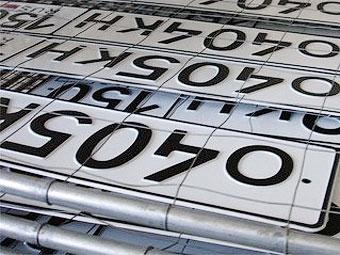 ГИБДД призвала разрешить свободную продажу номеров