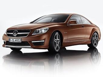 Появились фотографии AMG-версий обновленного купе Mercedes-Benz CL