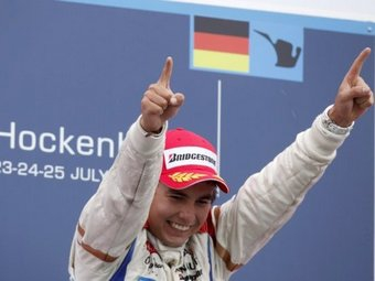 Серхио Перес вышел на второе место в серии GP2