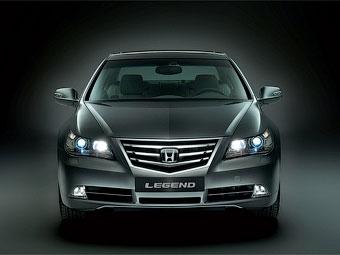 Компания Honda решила не прекращать выпуск модели Legend