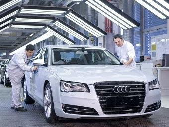 Рабочим заводов Audi подарят по 3500 евро
