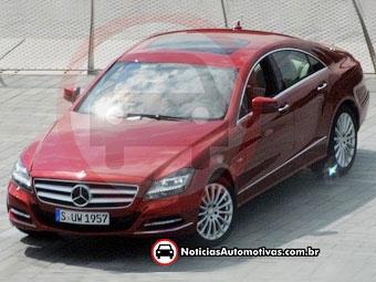 Новый Mercedes-Benz CLS сфотографировали без камуфляжа