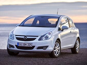 """Opel отзывает хэтчбеки Corsa из-за проблем с """"ручником"""""""
