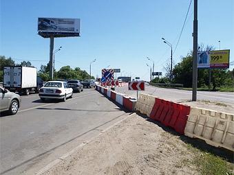 На Ленинградке открыты две дополнительные полосы для движения