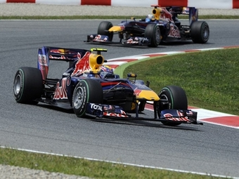 На тренировке в Венгрии гонщики Red Bull опередили конкурентов
