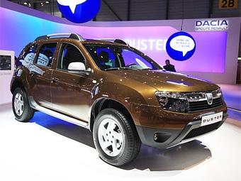 Компания Renault объявила цены на бюджетный кроссовер Duster