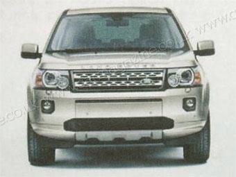 Land Rover Freelander обновится к Московскому автосалону