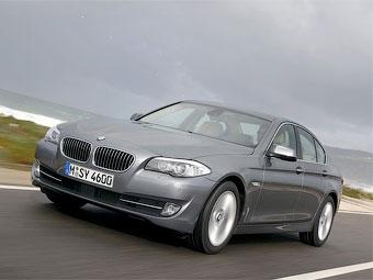 """С осени """"пятерка"""" BMW получит в России полный привод и новый дизель"""