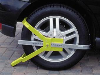 Британец устроил в автомобиле забастовку из-за штрафа за парковку
