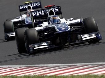 Команда Williams представит в Спа новые антикрылья
