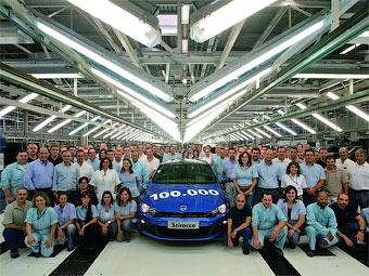 Концерн VW выпустил 100-тысячный экземпляр Scirocco