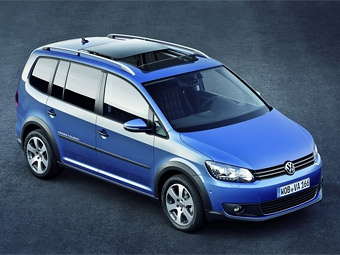 Компактвэн Volkswagen Touran обзавелся вседорожной версией