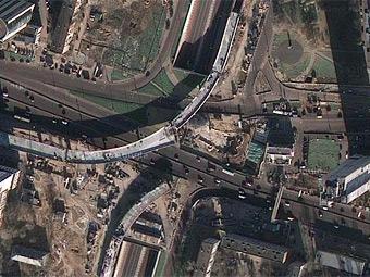 На Звенигородском проспекте в Москве появились две новые эстакады и тоннель