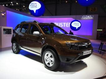 У кроссовера Dacia Duster обнаружились проблемы с тормозами