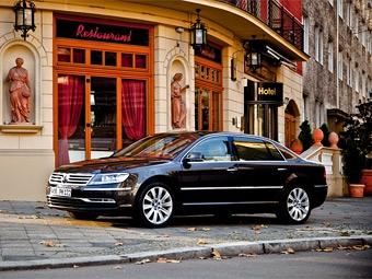 VW Phaeton после обновления подорожал на полмиллиона рублей