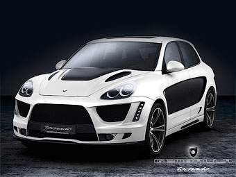 Возрожденное ателье Gemballa построило карбоновый Porsche Cayenne