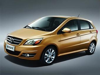 В Китае будут продавать клон Mercedes-Benz B-Class
