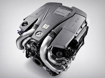 Ателье AMG представило новый восьмицилиндровый турбомотор