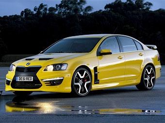 Британцам показали суперседан Vauxhall с мотором от Chevrolet Corvette