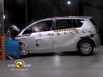 Организация EuroNCAP проверила на безопасность пять новых автомобилей
