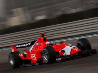 Шарль Пик выиграл квалификацию перед гонкой серии GP2 Asia в Абу-Даби