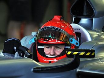 """Шумахер показал шестое время во второй день тестов """"Формулы-1"""" в Хересе"""