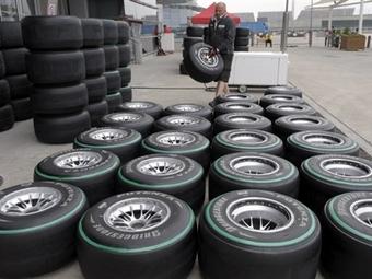 """Компания Bridgestone выбрала покрышки для первых гонок """"Формулы-1"""""""