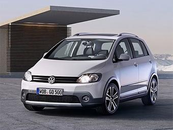 Volkswagen представил рестайлинговый CrossGolf