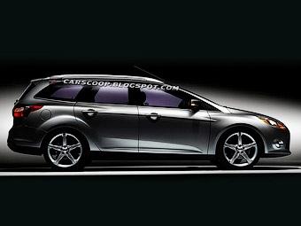 """Новый Ford Focus с кузовом """"универсал"""" покажут в Женеве"""