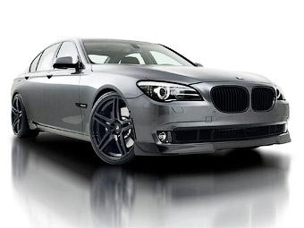 Ателье Vorsteiner улучшило аэродинамику седана BMW 7-Series