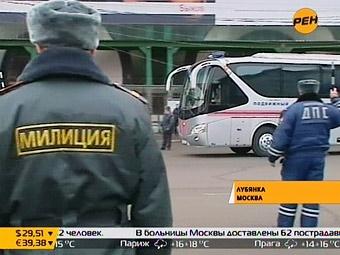 Милиция ужесточила контроль транспорта на въезде в Москву