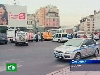 Движение в центре Москвы частично восстановлено