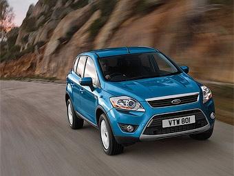 Ford Kuga с КПП с двумя сцеплениями появится в России летом