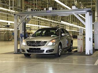 В России начались продажи Nissan Teana с полным приводом